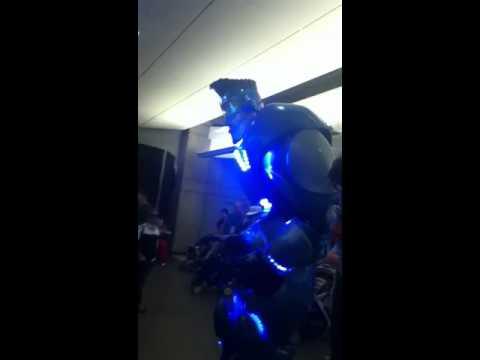 Dancing robot at capital ex