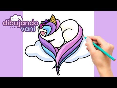 Como Dibujar Unicornio Paso A Paso Dibujos Para Dibujar