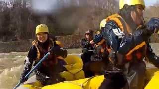 北海道ライオンアドベンチャー 2012春 尻別川春コース 5月2日