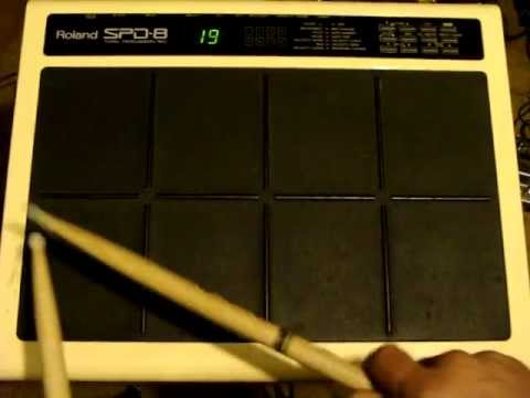 Verbazingwekkend Roland SPD 8 Total Percussion Pad - YouTube PA-83