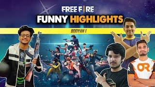 FREEFIRE FUNNY HIGHLIGHTS ft. @Toxic Mavi  , @SoulAman  & @Mafia Gaming