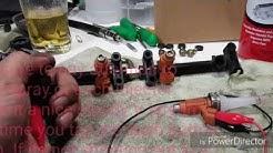 DIY Suzuki GSXR 750 04 05 Fuel Injector Cleaning