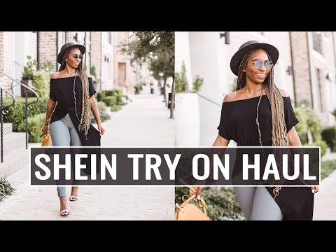 FALL SHEIN TRY ON HAUL!!! Must have SWEATERS, TOPS & DRESSES! !   JaLisaEVaughn thumbnail