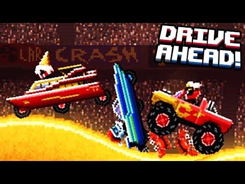 Машинки DRIVE AHEAD #13 прохождение ИГРЫ про машины как мультик для детей VIDEO FOR KIDS cars game
