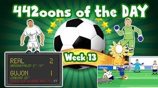 442oons of the Day - week 13! Ronaldo record! Chelsea 2-1 Tottenham! Karius goal-kick!