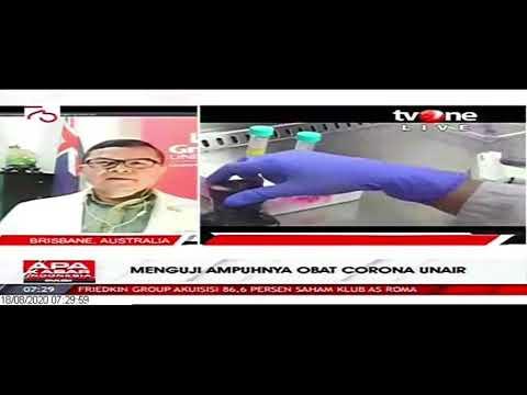 Menguji Ampuhnya Obat Corona UNAIR | TV ONE