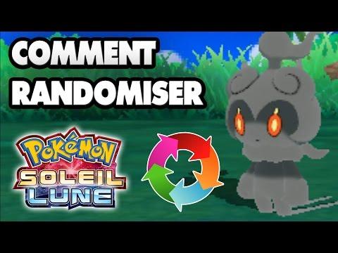 Comment randomiser Pokémon Soleil et Pokémon Lune