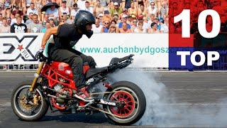 TOP10 Best Motorcycle Stunts StuntGP 2015