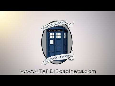 Doctor Who TARDIS bookcase