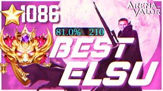 THE BEST SNIPER EU!! Elsu Gameplay. (SS RANK)  AoV   傳說對決   RoV   Liên Quân Mobile