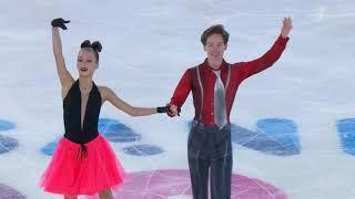 Ирина Хавронина Дарио Чиризано Юношеские зимние Олимпийские Игры 2020 Ритм танец