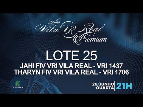 LOTE 25 (VRI 1437/VRI 1706)