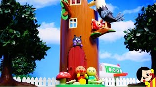 アンパンマンとベン&ホリーのエルフの木おもちゃアニメ❤ Anpanman Ben and Holly Elf-tree toy anime❤