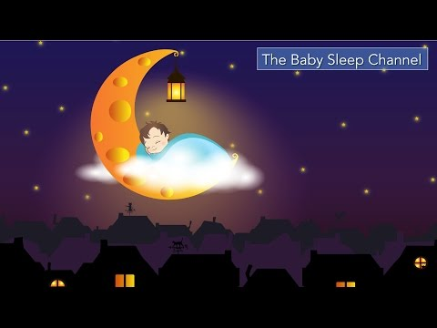 NEW  2 HOURS Soothing Lullaby Music To Put Baby To Sleep - Bach-Pachabel with Strings & Music Box