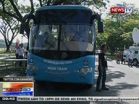NTG: Hybrid electric road train, inilunsad ng DOST
