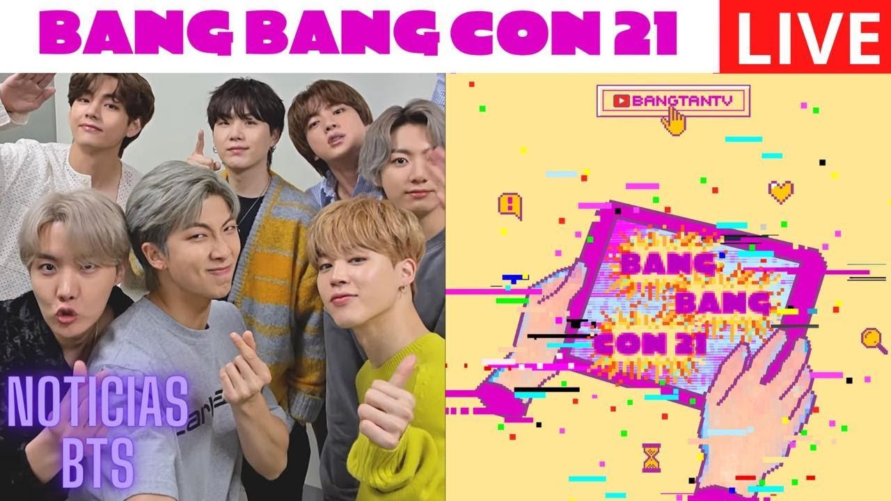 Hoy| CONCIERTO GRATIS de BTS en YouTube BANG BANG CON (Horarios/Canal/DóndeVer/En Vivo/Live/Boletos)