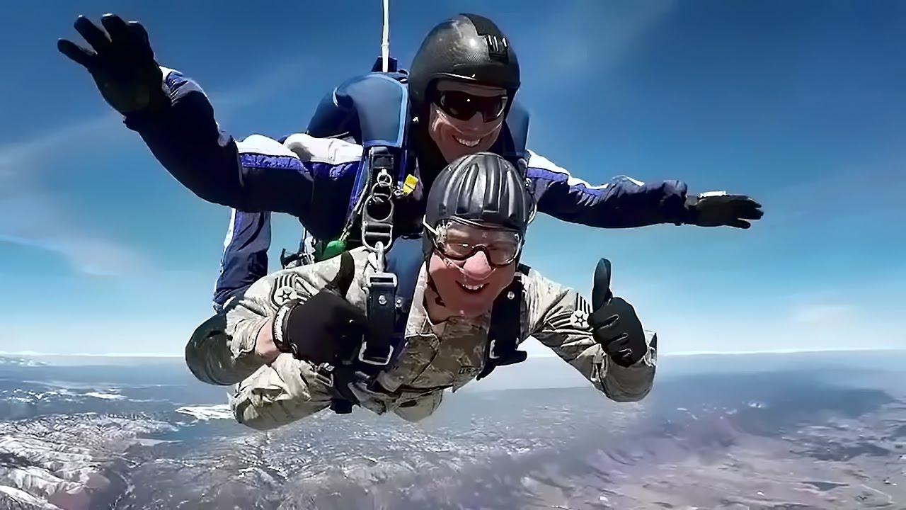 USAF Wings of Blue Parachute Team