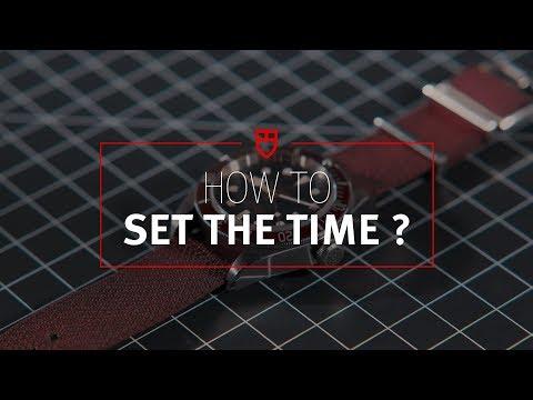 Tudor Tutorial 1: How To Set The Time?