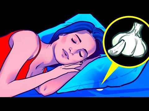 Положите на ночь чеснок под подушку и посмотрите, что будет!