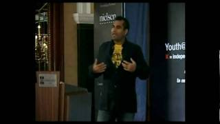 Shailendra Singh, Joint MD, Percept Ltd, addresses the youth at the TEDx Youth Summit