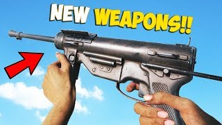 Battlefield 5 - M3 Grease Gun,Type 2A,BAR & Type 97 MG! New Weapons 2019