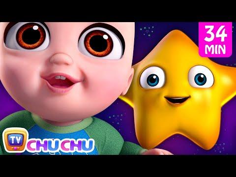 *New* Twinkle Twinkle Little Star 3 Song + More Nursery Rhymes & Kids Songs | ChuChu TV