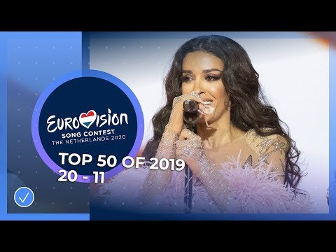 TOP 50: Most watched in 2019: 20 to 11 - Eurovision Song Contest