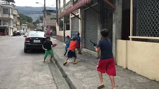 FORTNITE IN REAL LIFE IN My BARRIO !
