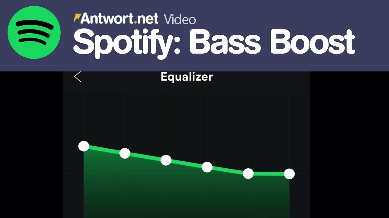 Equalizer Für Spotify