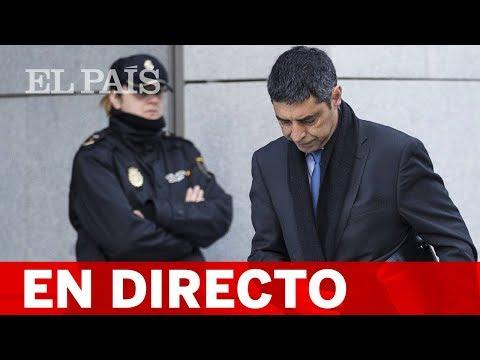 DIRECTO JUICIO DEL PROCÉS  Declara TRAPERO jefe de los MOSSOS el 1-O