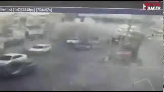 Adana'daki hain saldırı anı