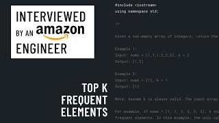 Technical interview with an AWS engineer