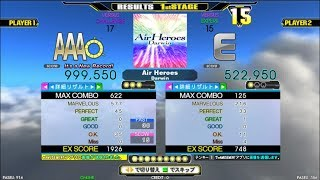[DDR A]Air Heroes[Single-CHALLENGE] 999,550 PFC by DDR-KOJI