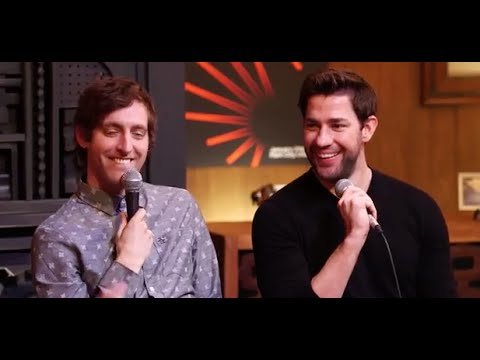 Cinema Café: John Krasinski and Thomas Middleditch
