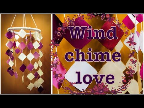 BEAUTIFUL WIND CHIME WITHOUT COLOUR PAPERS | My Craft #14