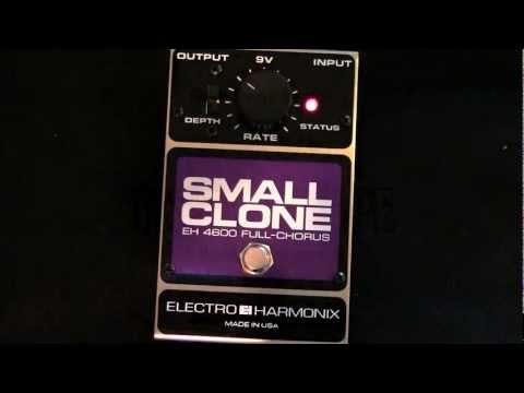EHX Small Clone in 100 Seconds
