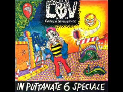 Italia Punk anni 90; C.O.V. (Torino) - In puttanate 6 speciale