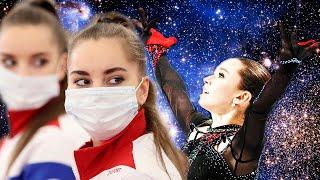 На Олимпиаде Фигуристок Засудить Сложнее чем Гимнасток или так же можно