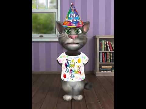 Gato cantando feliz cumplea os youtube - Videos graciosos para cumpleanos ...