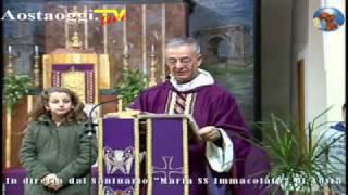Repeat youtube video Aosta La Santa Messa in diretta dal Santuario Mariano 4/12/2016 ore 10.30