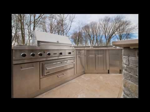 stainless steel doors for outdoor kitchen