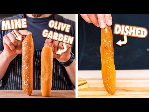 Making Olive Garden Breadsticks at Home for Beginners! From Joshua Weissman