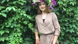 видео Распродажа: Туника с длинным рукавом Арт.: 1-037 50