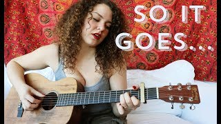 Taylor Swift - So It Goes... Cover