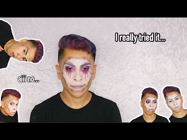 I tried doing a HALLOWEEN LOOK and FAILED! | Louie's Life