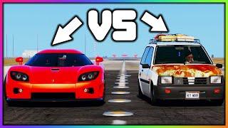 GTA 5 Roleplay - SUPER CAR VS JUNKER TROLLING | RedlineRP