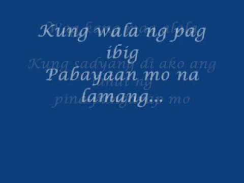 keep on loving you (tagalog version) by renz verano (w/lyrics)