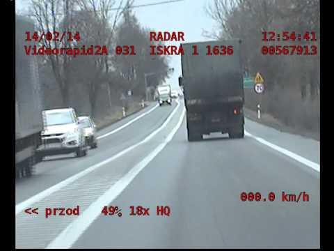 Pocig - Mercedes C300 vs. Policja (top speed police chase)