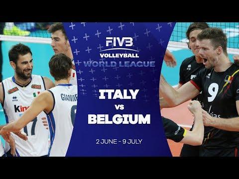 Italy v Belgium highlights - FIVB World League