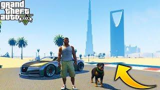 Franklin Y Chop se Van de Viaje A DUBAI en GTA 5!